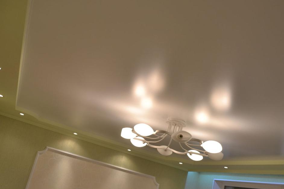 Светильники для матового натяжного потолка